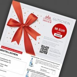 Gutschein über Monatskur (EUR)