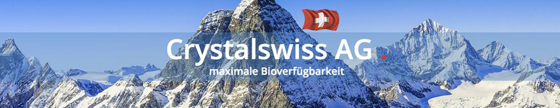 Weitere Produktinformationen erhalten Sie auf der Webseite der Crystalswiss AG.